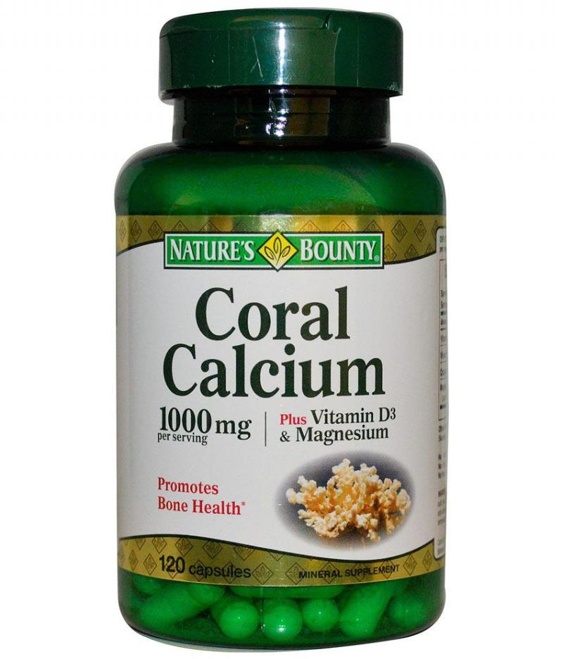 Nature' Bounty Coral Calcium
