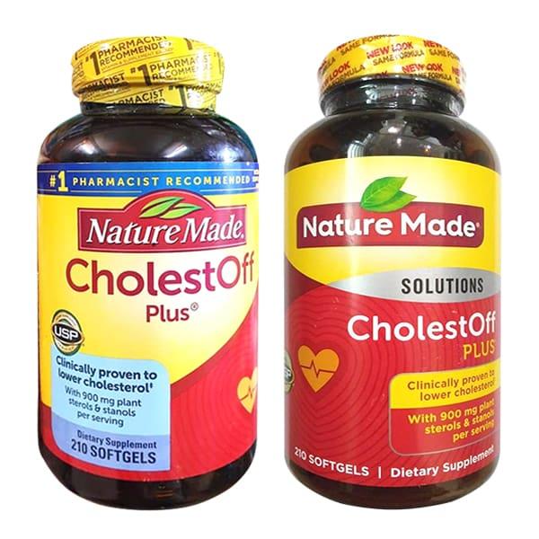 Nature Made ® Cholest Off Plus - Viên giảm cholesterol