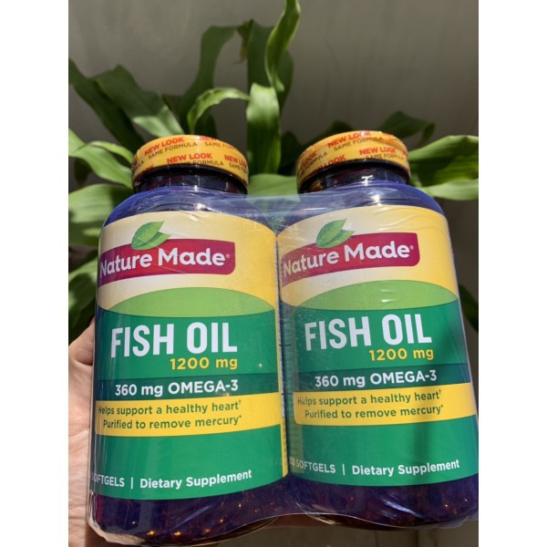 Nature Made Fish Oil Omega 3