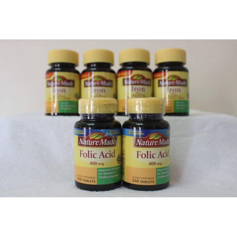 Nature Made Folic Acid được nghiên cứu để phòng ngừa tối đa thiếu hụt acid folic