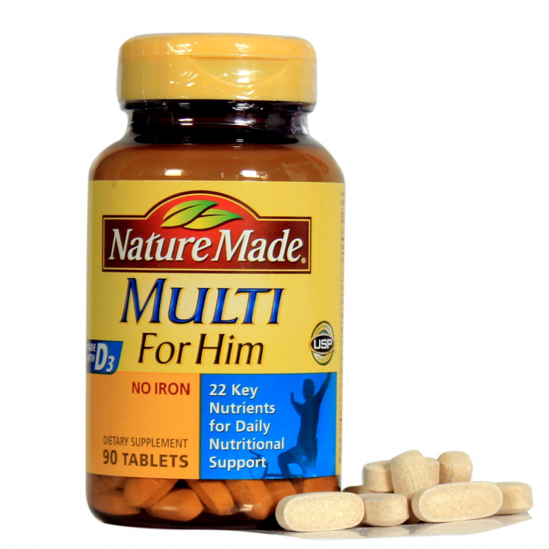 Natural Made Multi For Him 50+