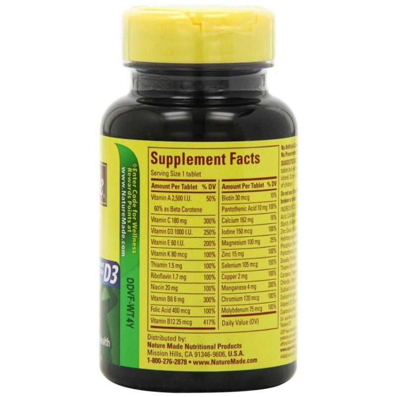 Vitamin Naturemade multi for him (90 viên)