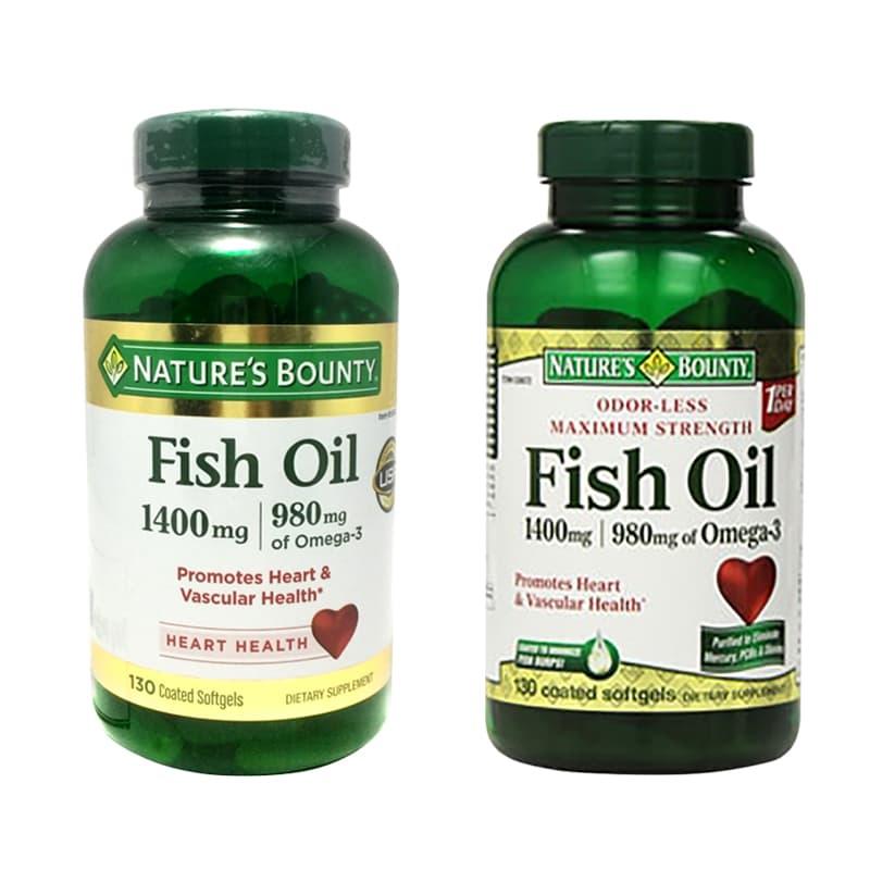 Nature's Bounty Fish Oil Omega 3