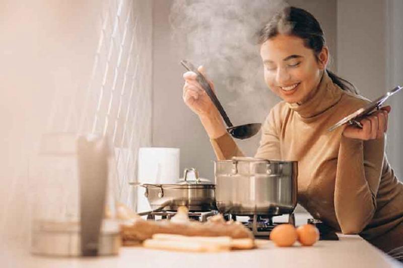 Nấu ăn là cách thư giãn tốt nhất