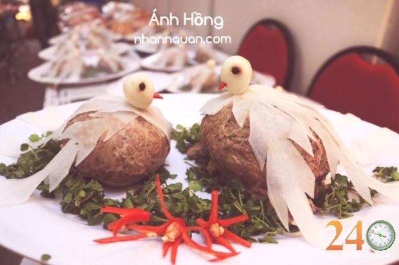 Một trong những món ăn hấp dẫn của Ánh Hồng