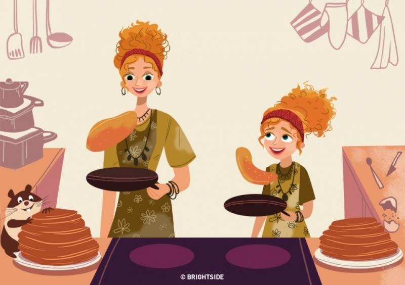 Nấu những món ăn cùng nhau