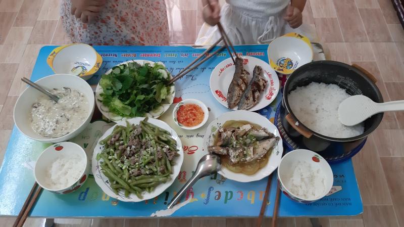 Nấu những món ăn mà ngày thường chưa có cơ hội
