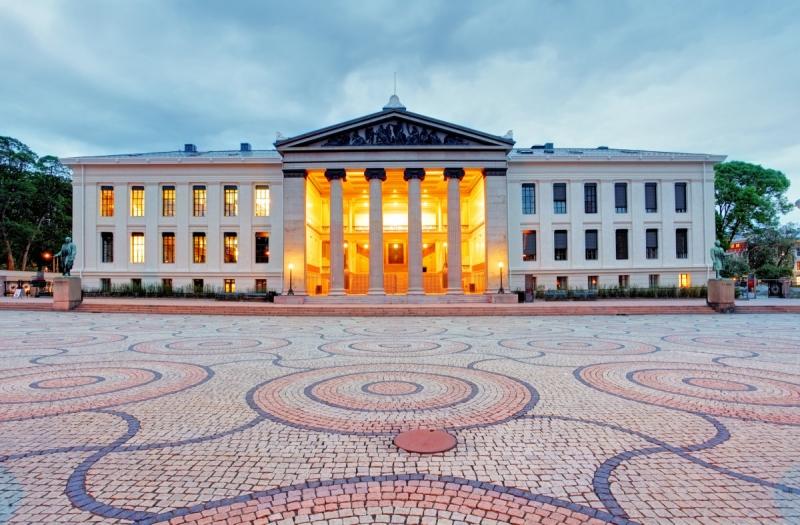Đại học Oslo, Na Uy.