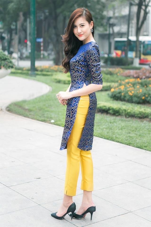 Áo dài cách tân tại NEM fashion
