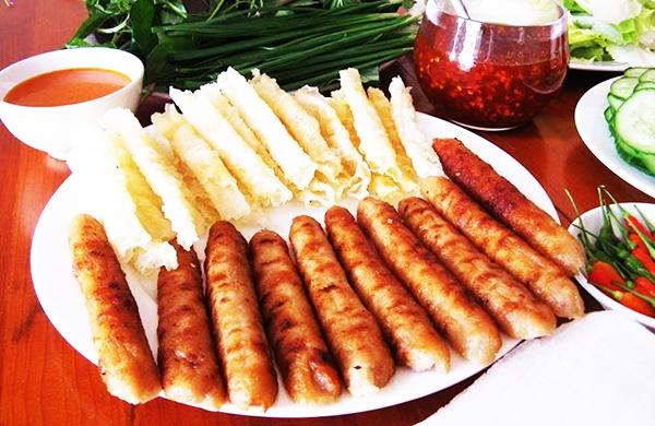 Món nem nướng - đặc trưng riêng của Đà Lạt