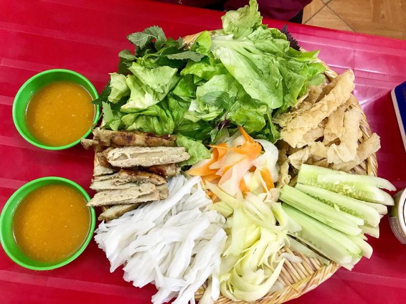 Nem Nướng Nha Trang- Cháo Hàu Sữa