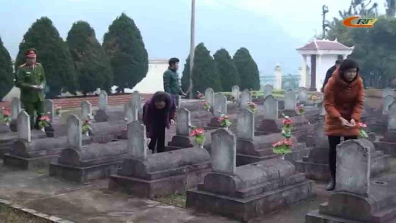 Nghĩa trang âm khí nặng nề