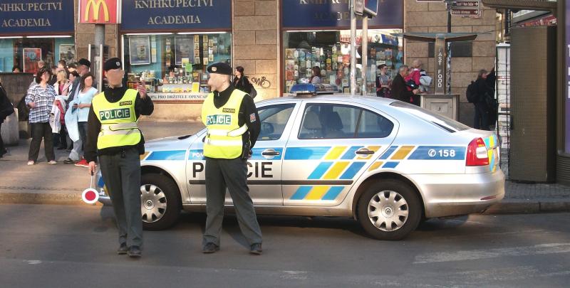 Cảnh sát giao thông tại Slovakia
