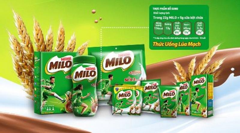 Thương hiệu sữa Nestle cũng là một trong những thương hiệu sữa lớn ở Việt Nam
