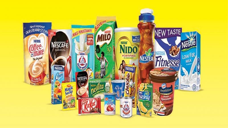 Các sản phẩm của tập đoàn Nestle