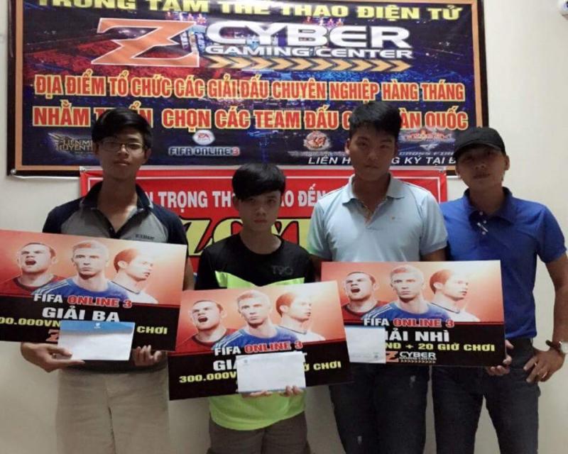 Net Cyber Tân An thường xuyên tổ chức các cuộc thi đấu cho khách hàng