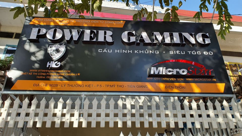 Quán game  Power Gaming Center