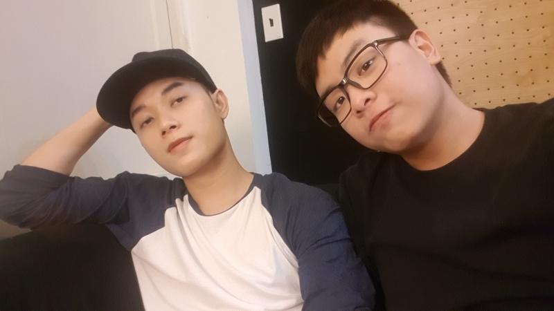 Ca sĩ Trúc Nhân và nhạc sĩ Hứa Kim Tuyền