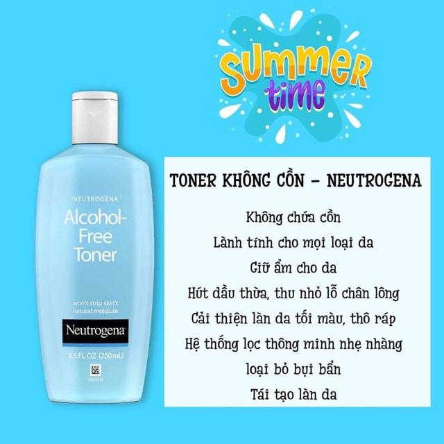 Neutrogena Acohol - Toner