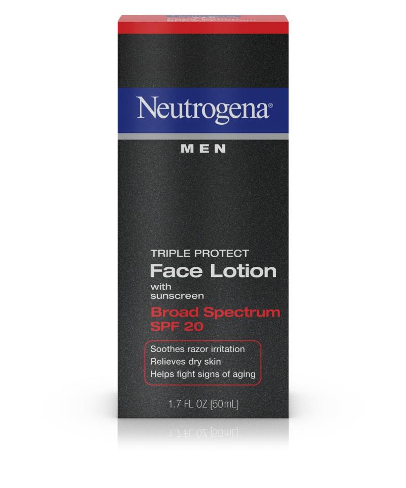 Neutrogena Men Triple Protect SPF 20