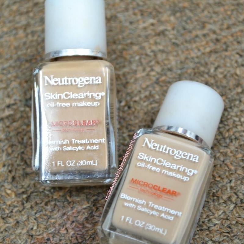 Neutrogena Skin Clearing Oil- Free Makeup Blemish Treatment With Salicylic Acid