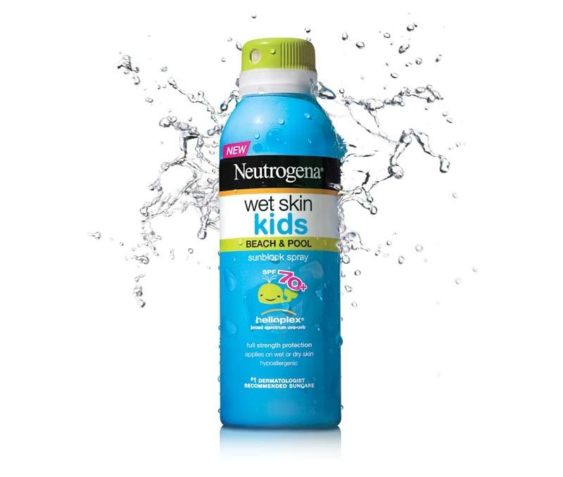 Neutrogena Wet Skin Kids SPF70+ là kem chống nắng nổi tiếng dành cho trẻ nhỏ