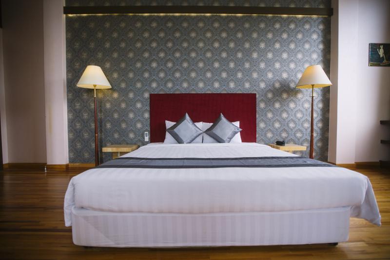Phòng ngủ khách sạn New Wave Vũng Tàu