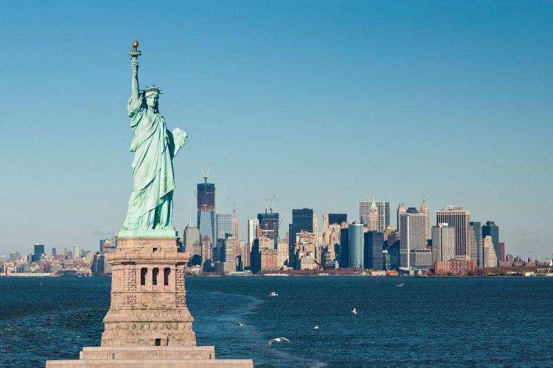 Tượng Nữ thần tự do, biểu tượng của New York