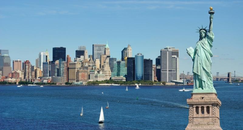 Tượng Nữ thần Tự do - một biểu tượng của thành phố New York