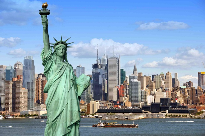 Tượng Nữ thần tự do ở New York