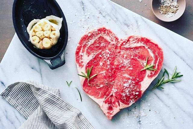 Món steak chuẩn Mỹ tại nhà hàng
