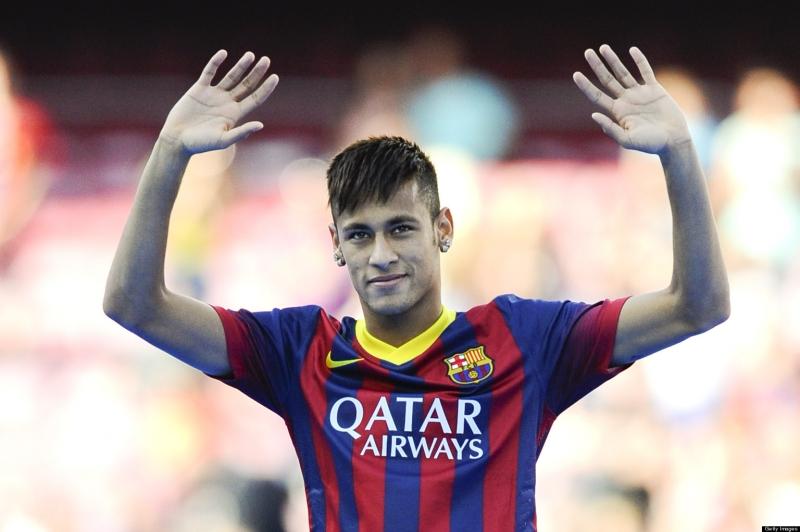 Neymar:  Santos tới Barca (2013)  giá 62,5 triệu bảng