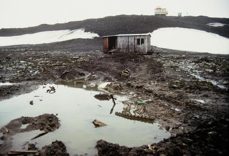 Những hình ảnh môi trường độc hại không khó để bắt gặp ở Nga