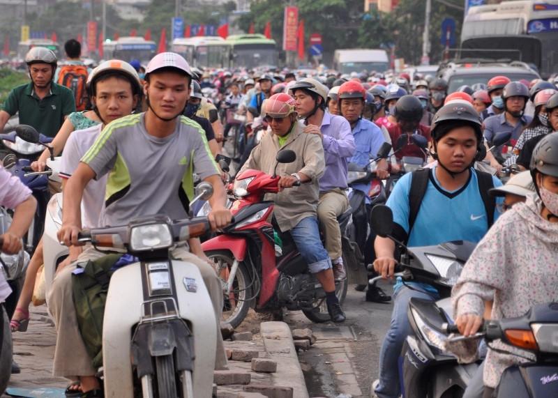 Ngã ba Nguyễn Hữu Thọ - Giải Phóng