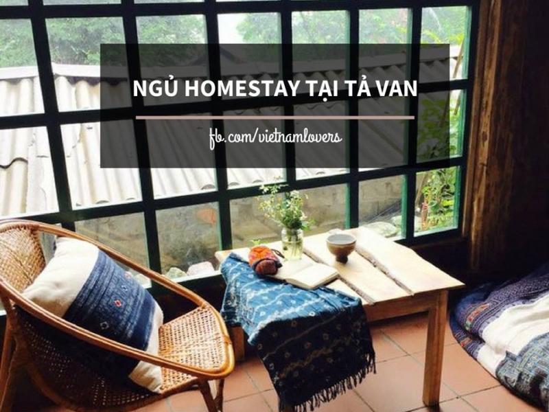 Ngủ homestay tại Tả Van