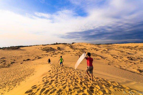 Ngắm nhìn những đụn cát lớn mà không phải mất công đi đến Châu Phi