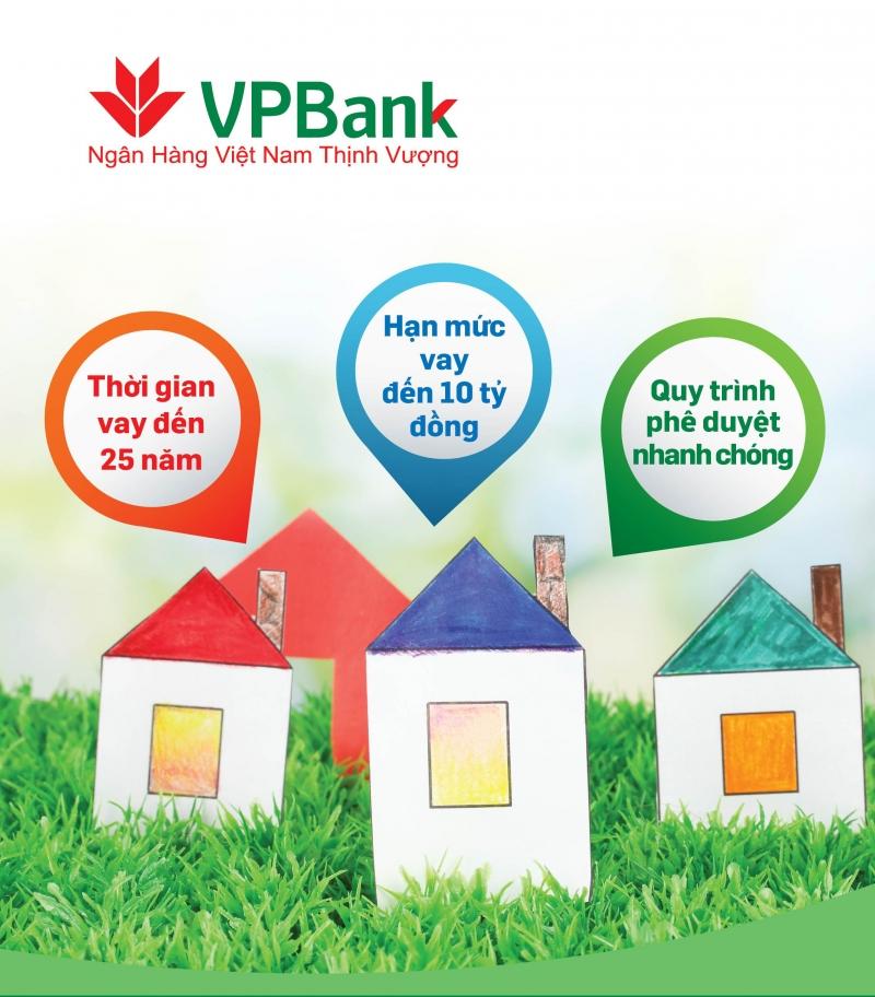 Gói vay ưu đãi mua nhà của VPBank