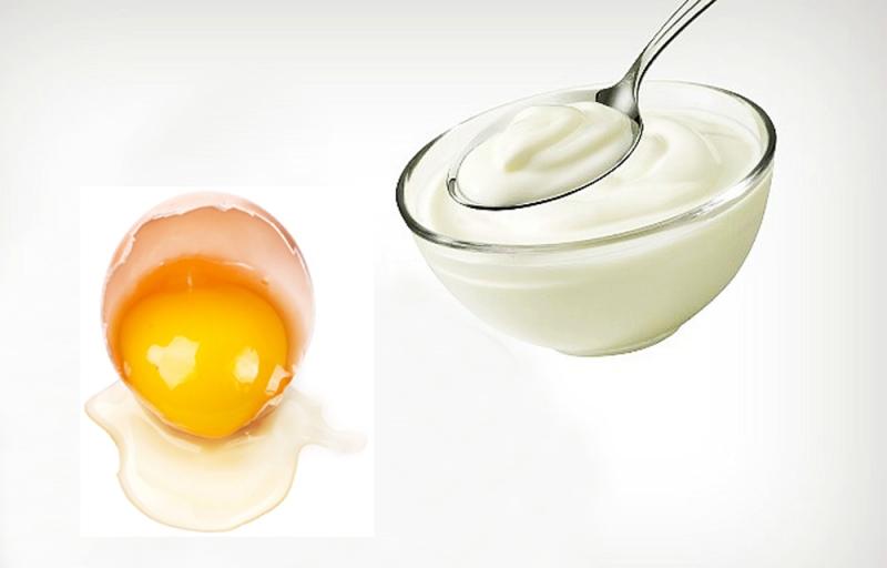 Ngăn ngừa rụng tóc bằng sữa chua và lòng trắng trứng gà