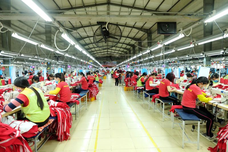 Ngành may mặc tại Nam Định