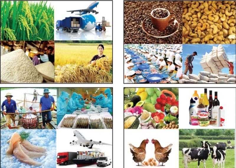 Nhóm ngành nông - lâm - thủy sản vẫn tăng trưởng dương cả năm