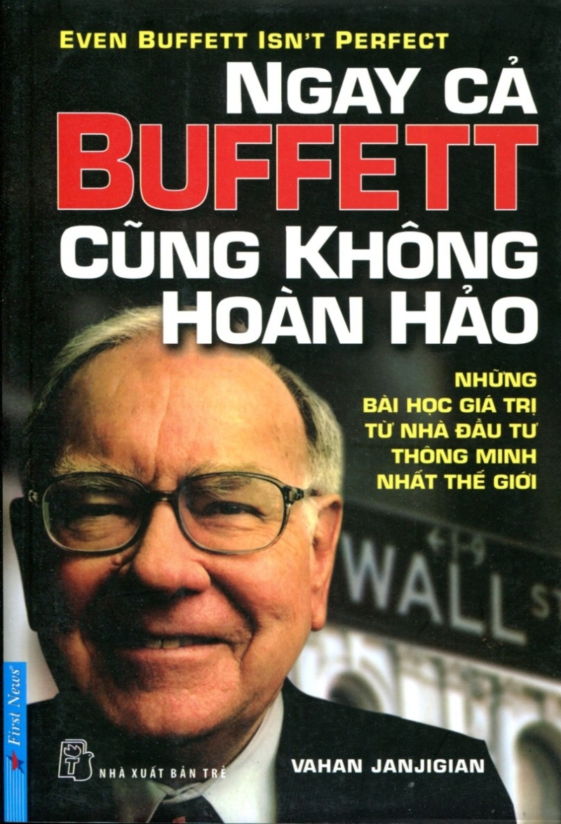 Cuốn sách Ngay Cả Buffett Cũng Không Hoàn Hảo