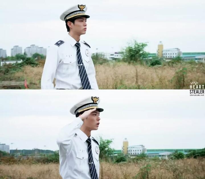 Tạo hình của Park Bo Gum trong Ngày khó khăn