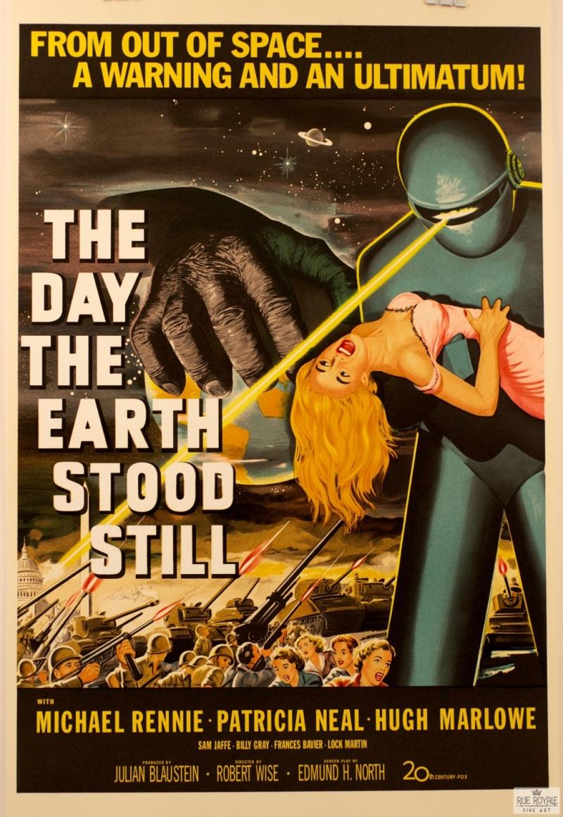 Poster phim Ngày trái đất ngừng quay