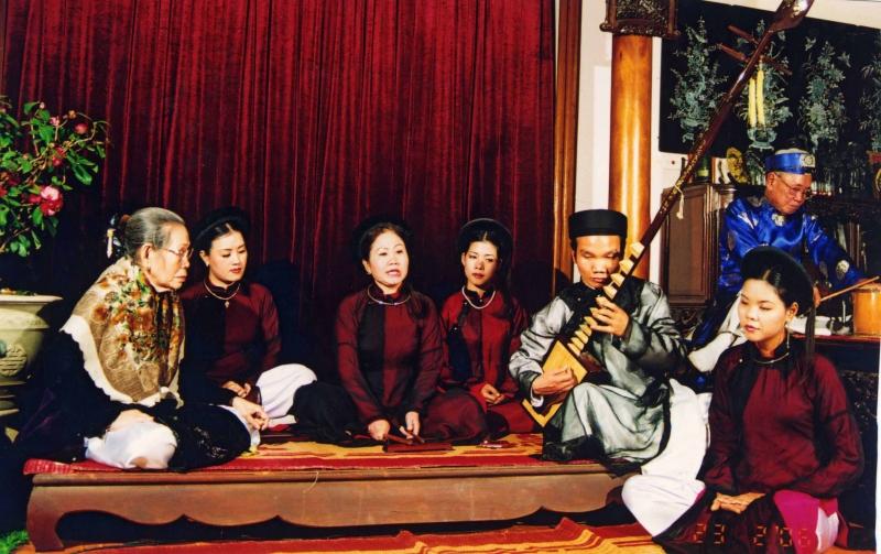 Ca trù đã được công nhận là di sản văn hóa phi vật thể