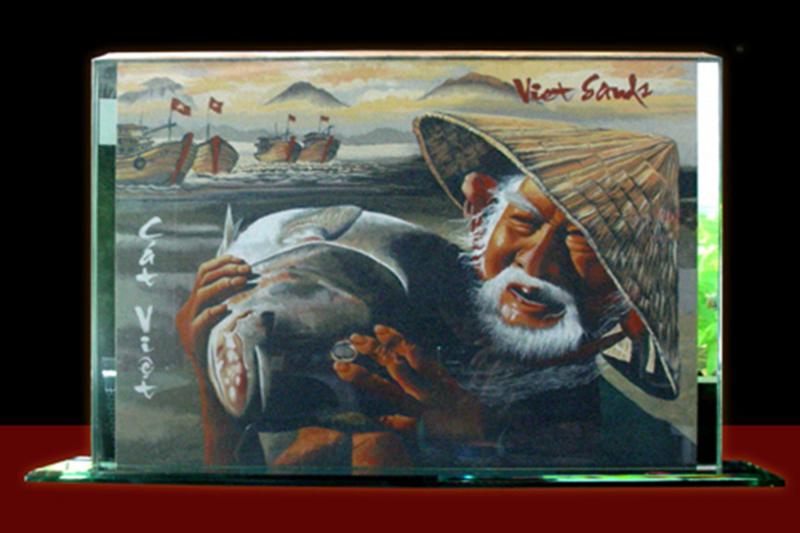 Với những bộ sưu tập tuyệt vời, nghệ nhân tranh cát Ý Lan được xem là người phụ nữ có đôi tay vàng. T