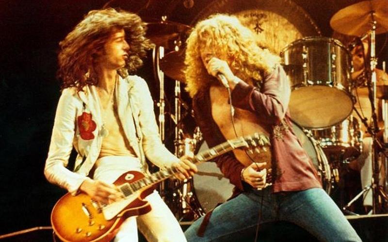 Nghệ sĩ guitar Jimmy Page