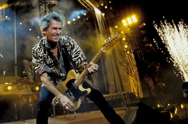 Nghệ sĩ guitar Keith Richards