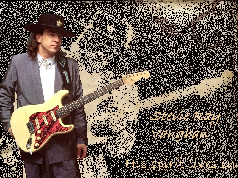 Nghệ sĩ guitar Stevie Ray Vaughan