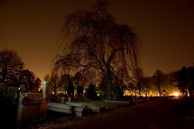 Nghĩa trang chứa nhiều âm khí