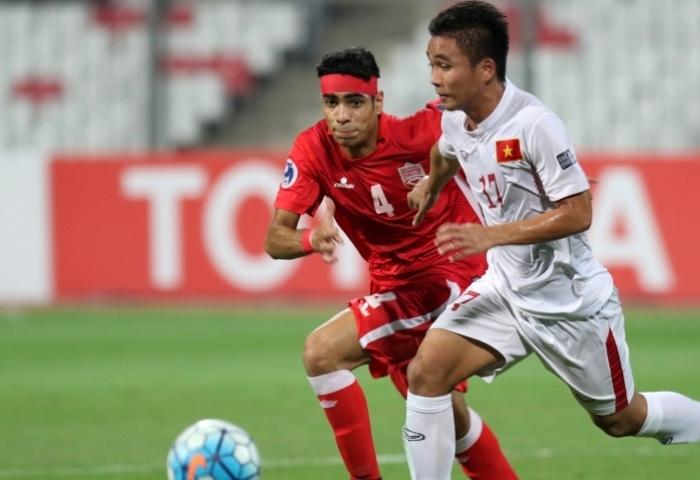 Trần Thành ghi bàn thắng duy nhất trận đấu với U19 Bahrain